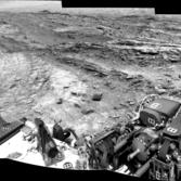 Contact between the Murray formation and the Stimson unit, Curiosity sol 1106
