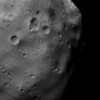 Phobos closeup from Mars Express