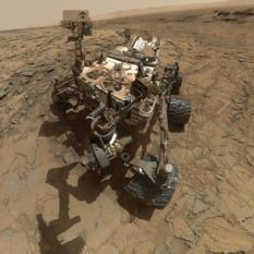 Curiosity sol 1126 self-portrait at Big Sky