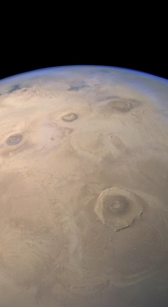 Martian volcanoes