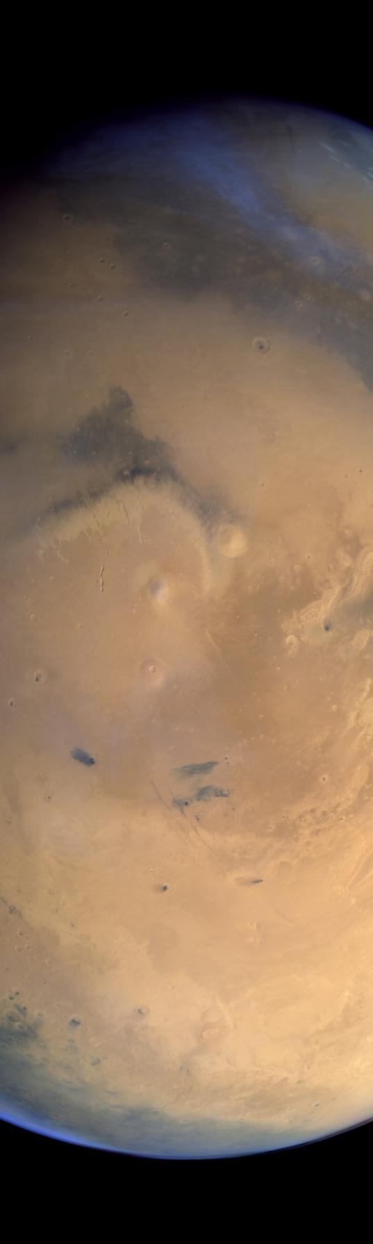 Elysium and environs, Mars
