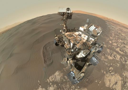 Curiosity at Namib Dune, Sol 1228