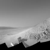 MERB Opportunity Knudsen Ridge Navcam Panorama