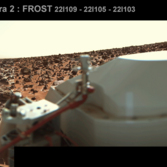 Viking Lander 2 Camera 2 frost (Low Resolution Color)