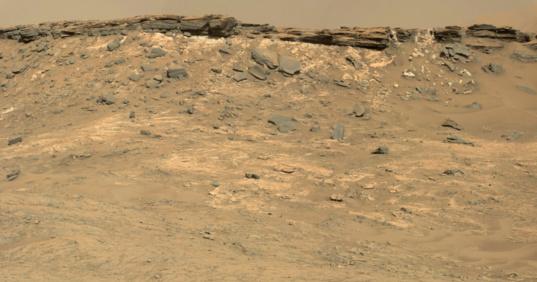 Eastern edge of the Naukluft plateau, sol 1267