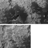 Phil Stooke's Curiosity route maps (updated to sol 1369)