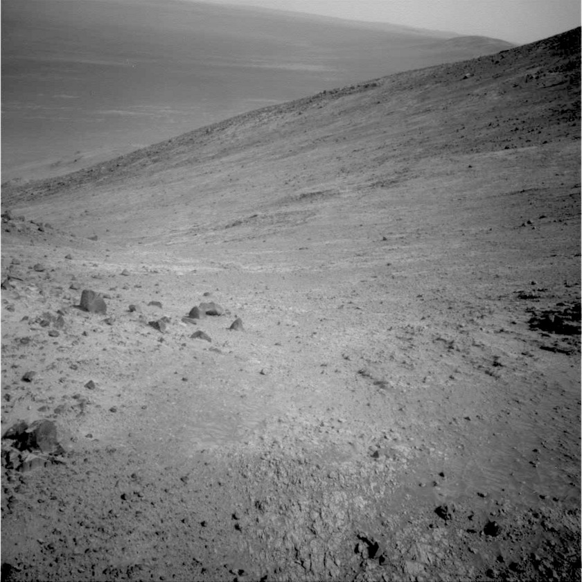 Looking south, sol 4482