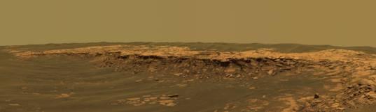 Payson outcrop, Erebus Crater
