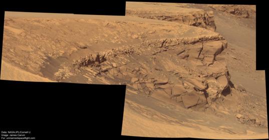 Cape Desire, sol 1060