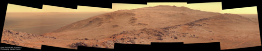 Extended view of Marathon Valley to the south, sols 3941–3942