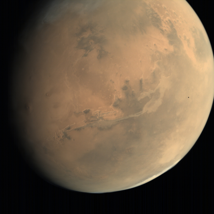 Mars and Phobos