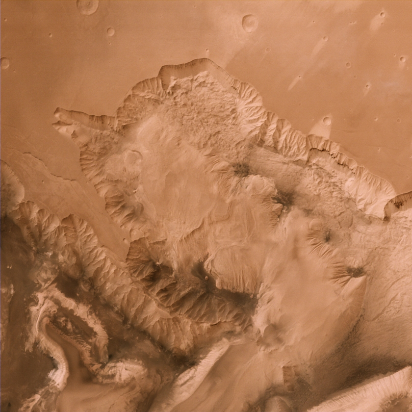 Candor and Ophir Chasmata, Mars