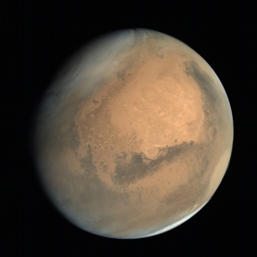 Global view of Mars from MOM: Meridiani Planum