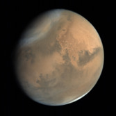Global view of Mars from MOM: Chryse and Acidalia Planitiae and Kasei, Mawrth, Tiu, and Ares Valles