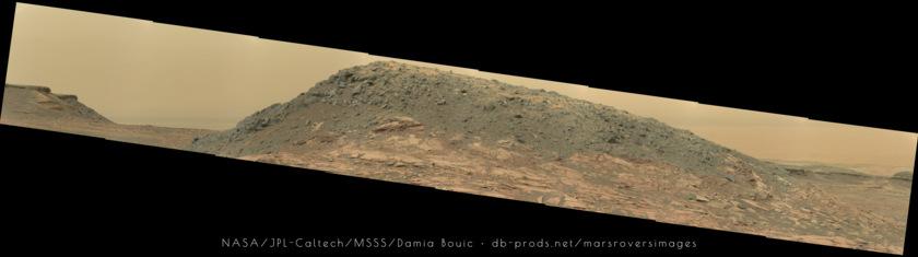 Ireson Hill, Curiosity sol 1590