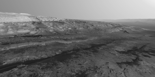 Mount Sharp northwest flank