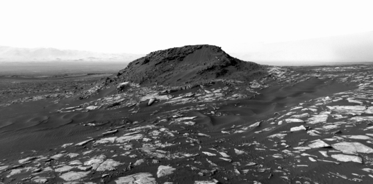 Ireson Hill, Curiosity sol 1598