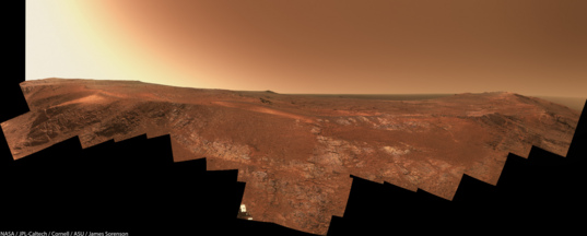 Opportunity panorama at Rocheport