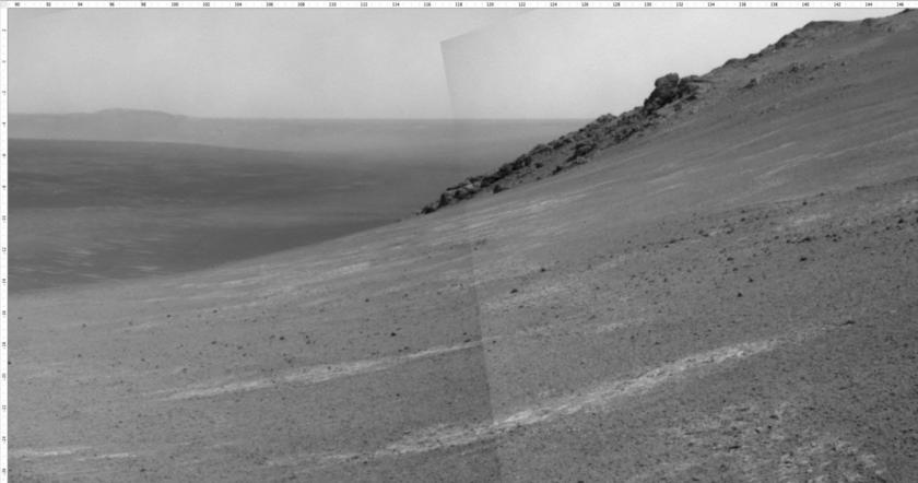 Looking southeast with Navcam
