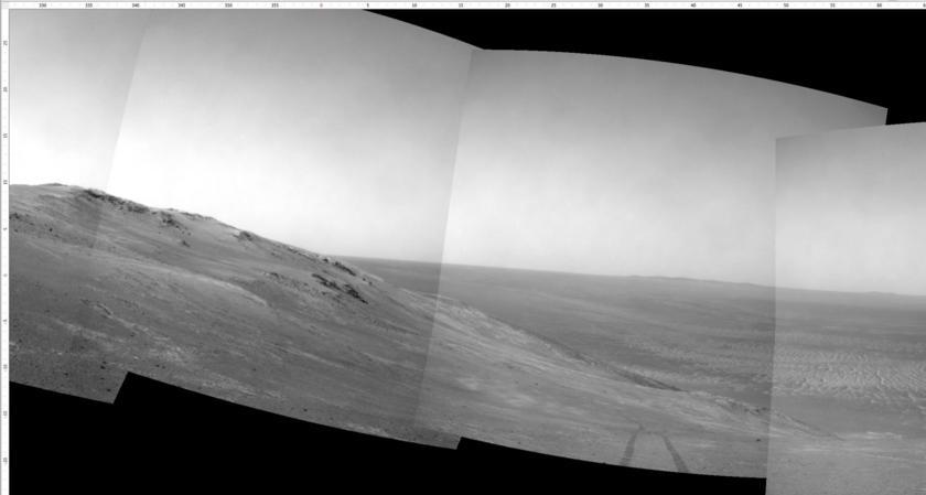 Navcam panorama, sol 4633