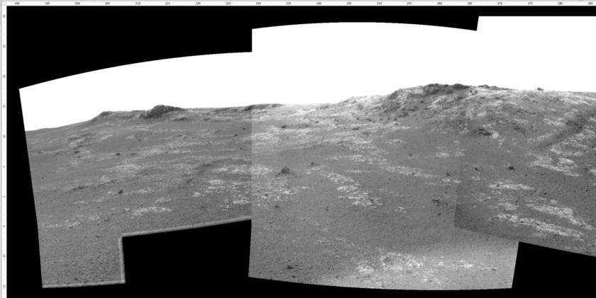 Crater rim ahoy!