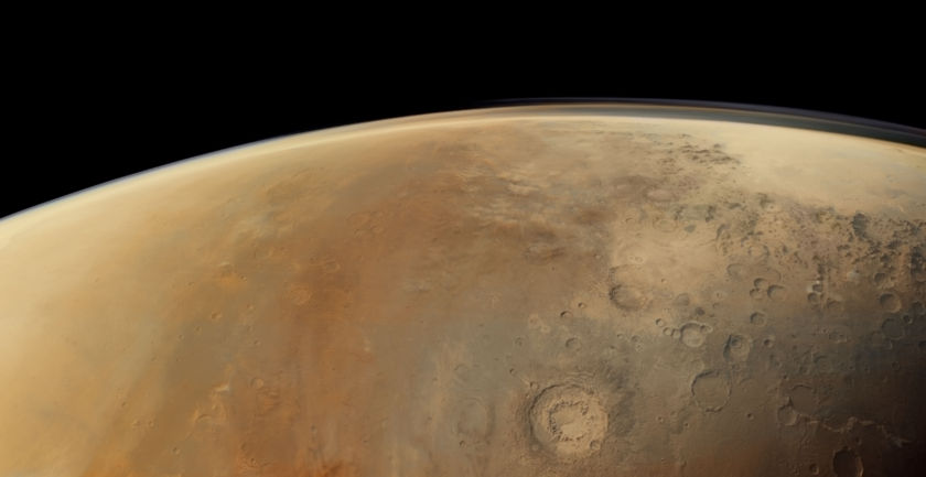 Southern Aonia Terra from Mars Express