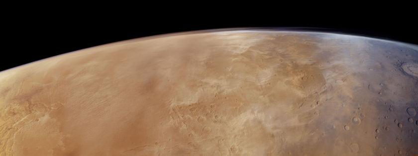 Solis Planum from Mars Express