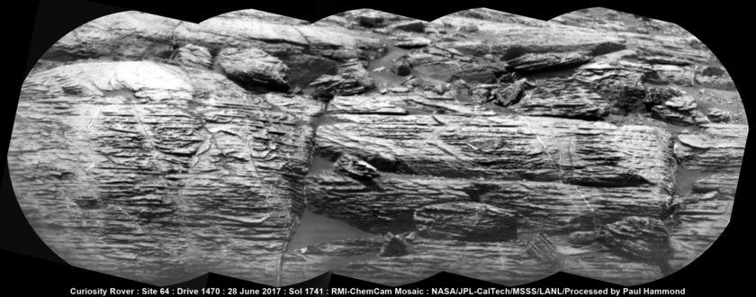 Distant ChemCam view of Vera Rubin Ridge, Curiosity sol 1741
