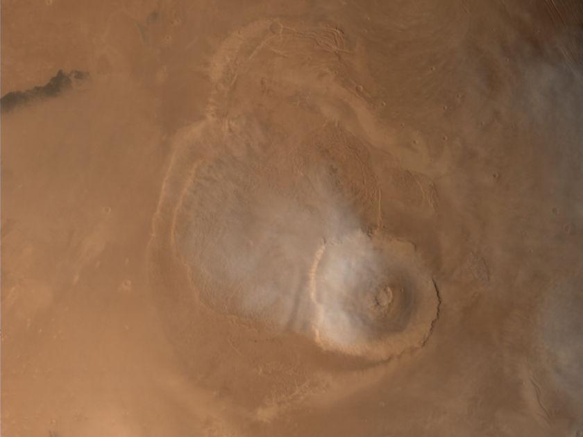 Olympus Mons, Mars
