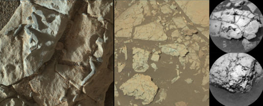 Haroldswick and surroundings, Curiosity sol 1921 and 1922