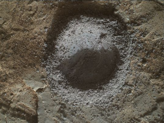 Results of the second attempt to drill at Lake Orcadie, sol 1983