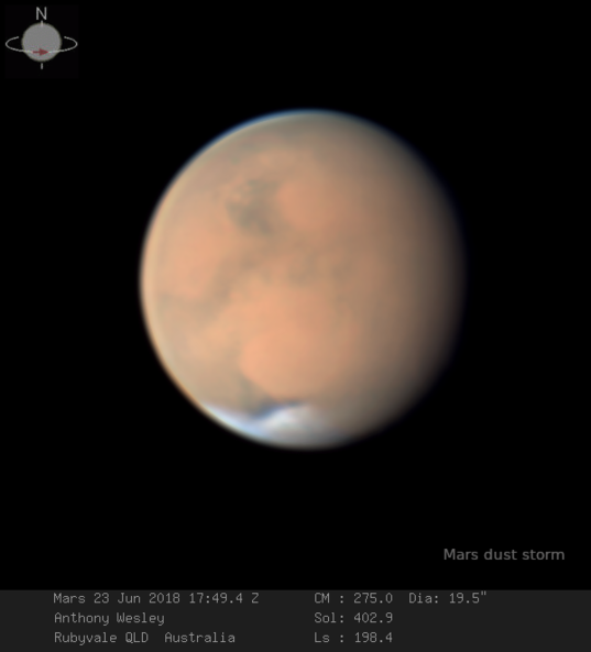 Mars on June 23