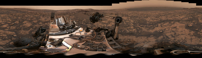 Curiosity deck panorama at Stoer