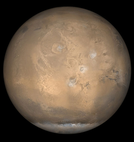 Then & Now: Mars global view