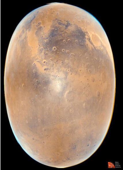 Opposition surge at Mars