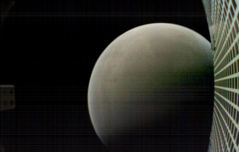 MarCO view of Mars after InSight landing