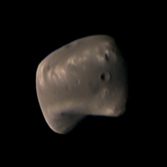 Deimos from Viking 2 Orbiter