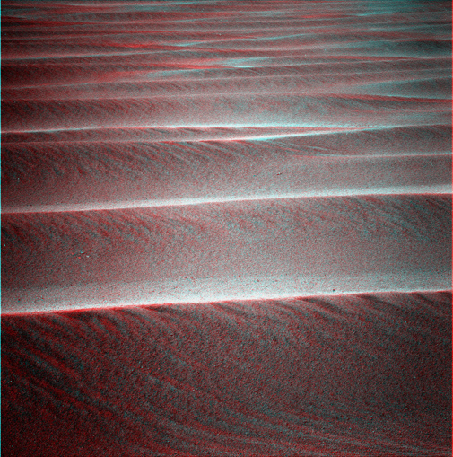 Rippled terrain in 3-D