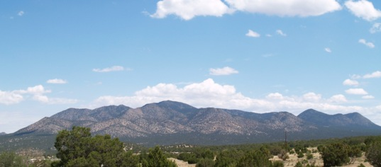 Ortiz Mountains, New Mexico