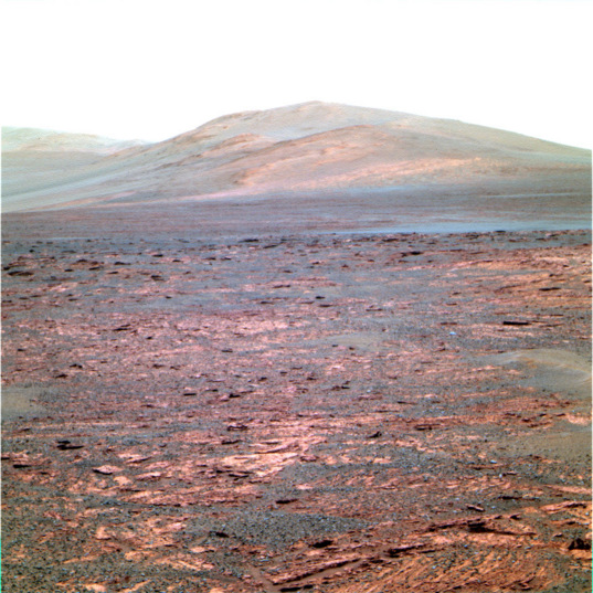 Location A: Pancam image from sol 3325