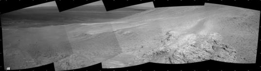 Opportunity sol 3458 Navcam panorama