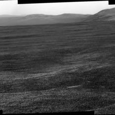 Endeavour's eastern rim, Opportunity sol 2671
