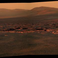 Western Endeavour rim, sol 2678