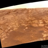 Opportunity looks upward to 'Paolo's Plunge'