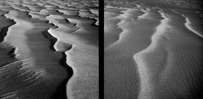 Sands on Earth, sands on Mars