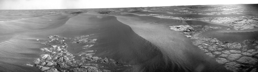 Opportunity Navcam panorama, sol 1,774