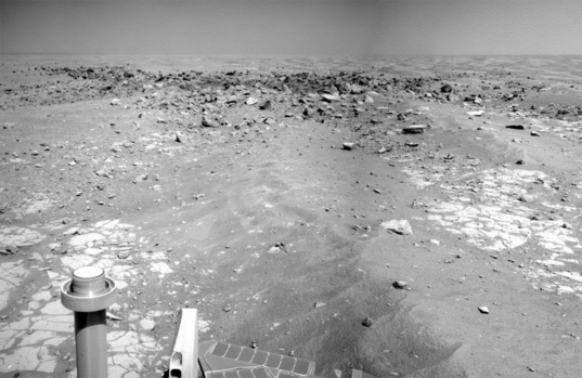 Concepcion crater, Opportunity sol 2136