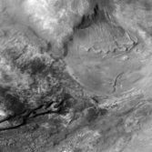 Gullies and dunes in the Nereidum Montes