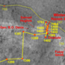 Detail from Spirit sol 1782 route map