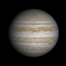 A global view of Jupiter from Cassini